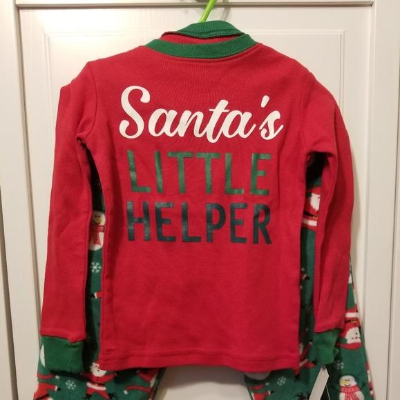 Christmas Pajama Set - Boy s - 3T - Red and Green b0a542888